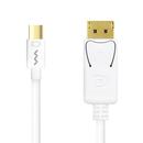 �ͻ�����  ��Ʈ�� Mini DisplayPort to DisplayPort V1.2 MDP-747 JETSPEED ��ȯ <b>���̺�</b>