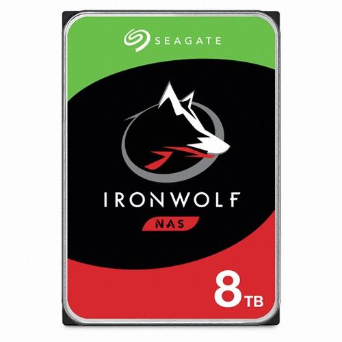 Seagate IronWolf 7200/256M(ST8000VN004, 8TB)