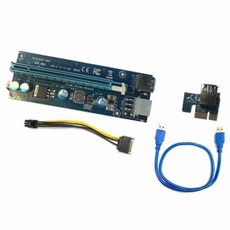 디지털하우스 PCIe 1x to 16x 라이져카드 벌크_이미지