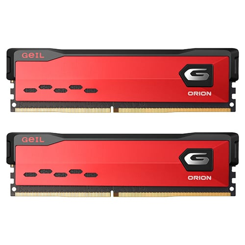 GeIL DDR4-3600 CL18 ORION Red 패키지 (16GB(8Gx2))