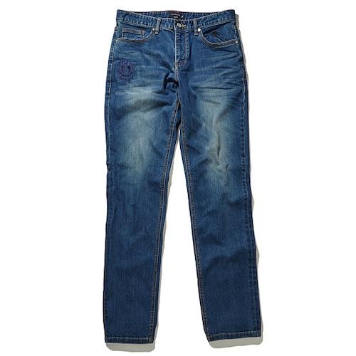 코오롱인더스트리 커스텀멜로우 embroidery denim pants CWPAA17582BUX_이미지