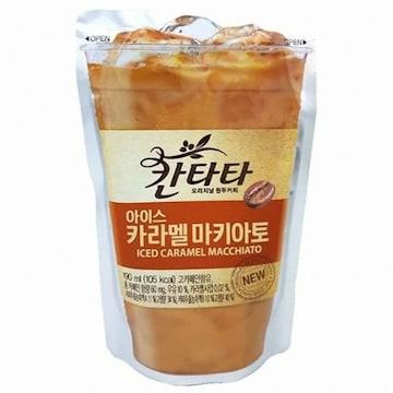 롯데칠성 칸타타 아이스 카라멜마키아토 190ml(10개)