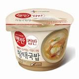 CJ제일제당 햇반 컵반 황태국밥 170g  (1개)