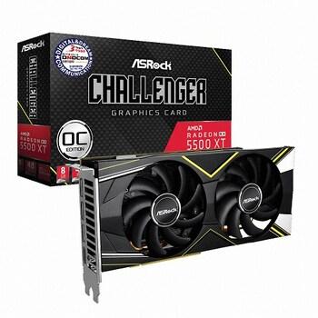 ASRock 라데온 RX 5500 XT CHALLENGER D OC D6 8GB 디앤디컴