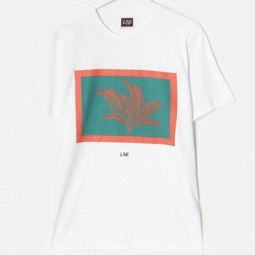 삼성물산 빨질레리 남성 코튼 보태니컬 그래픽 반팔 티셔츠 PC9142XL41_이미지