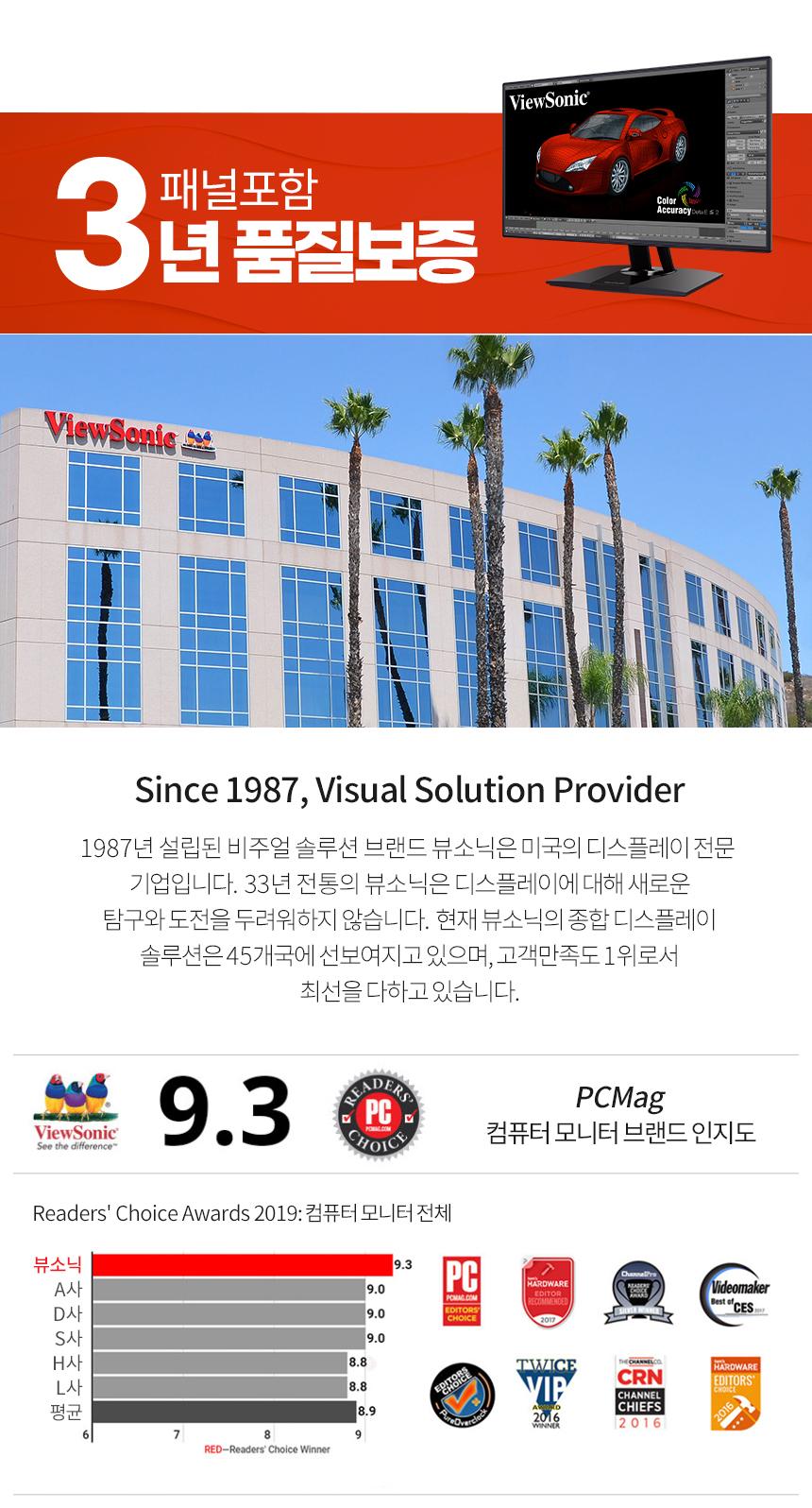뷰소닉 VP2768-2K QHD IPS 오토피벗 무결점