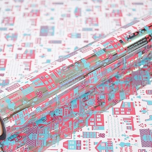 진영패키징 리빙하우스 분홍하늘 증착롤포장지 530 x 20m_이미지
