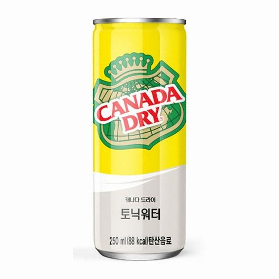 코카콜라음료 캐나다 드라이 토닉워터 250ml(30개)