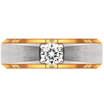 [남] 브리앙 18K 엑설런트 다이아몬드 남자 반지