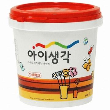 삼화페인트 아이생각 수성목재 페인트(1L)