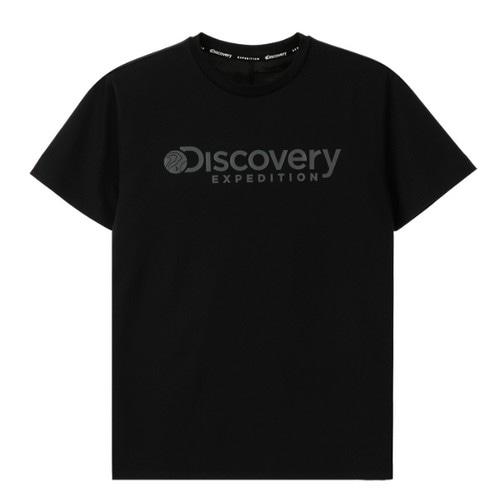 디스커버리익스페디션  빠이핑 라운드 티셔츠 (DXRT6Q831-BK, 블랙)_이미지