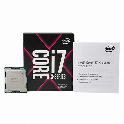 인텔 코어X-시리즈 i7-9800X (스카이레이크) (정품)_이미지