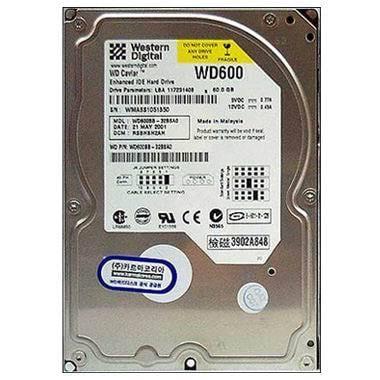 Western Digital WD WD  60GB  7200rpm  WD600BB 볼_이미지