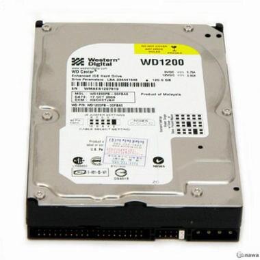Western Digital WD WD 120GB  7200rpm 8MB WD1200PB_이미지