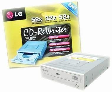 LG전자  CD-RW GCE-8526B 그레이 박스_이미지