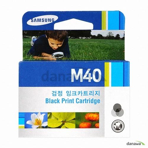 삼성전자 정품 INK-M40 검정 (1개)_이미지