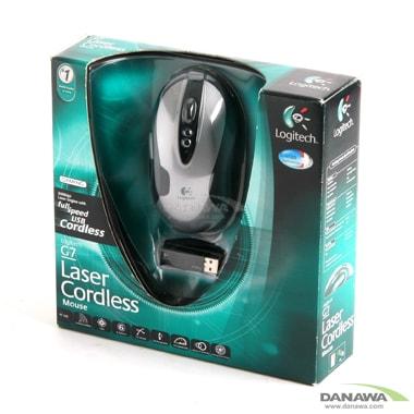 로지텍 G7 Laser Mouse Silver (정품)_이미지