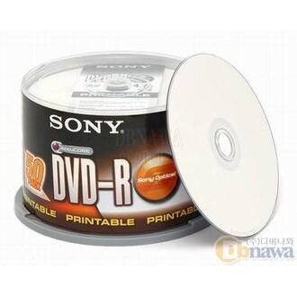 SONY DVD-R 4.7GB 8x 케익 50장 프린터블_이미지