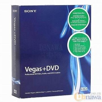 SONY 영상편집 Vegas+DVD_이미지
