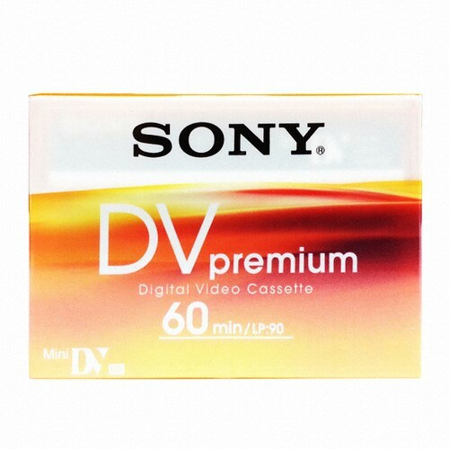 SONY MiniDV 6mm DVM60R3 60분 DV테이프 (5개)_이미지