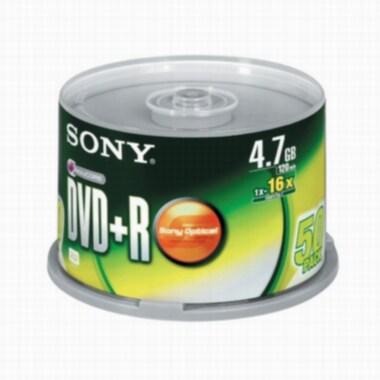 SONY DVD+R 4.7GB 16x 케익 (50장)_이미지