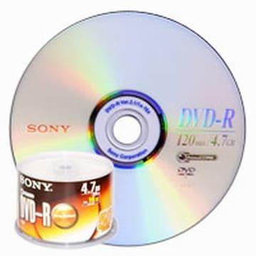 SONY DVD-R 4.7GB 16x 케익 (50장)_이미지