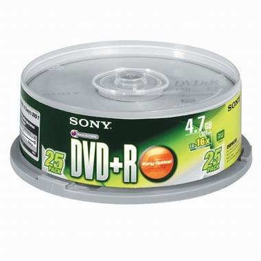 SONY DVD+R 4.7GB 16x 케익 25장_이미지