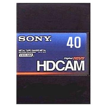 SONY BCT-40HD HDCAM 40분 DV테이프 (1개)_이미지