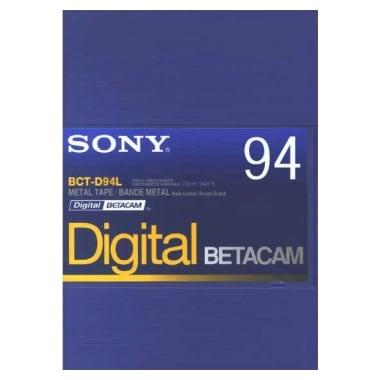 SONY BCT-D94L Betacam 94분 DV테이프 (1개)_이미지