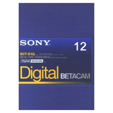 SONY BCT-D12 Betacam 12분 DV테이프 (1개)_이미지