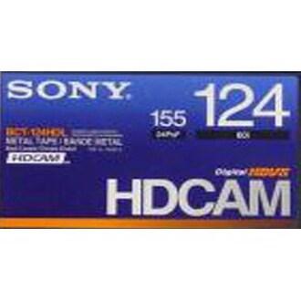 SONY BCT-124HD HDcam 124분 DV테이프 (1개)_이미지