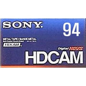 SONY BCT-94HD HDcam 94분 DV테이프 (1개)_이미지