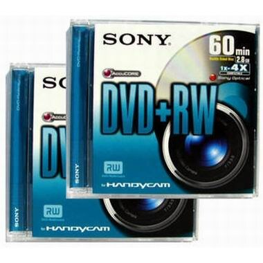 SONY DPW60DSS2 DVD+RW 60분 (2장)_이미지