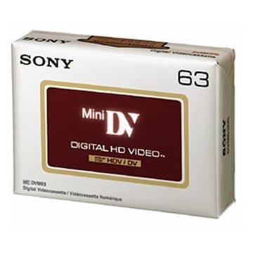 SONY MiniDV 6mm DVM63HD 63분 DV테이프 (6개)_이미지