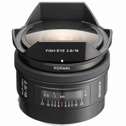 SONY 알파 16mm F2.8 Fisheye (정품)_이미지