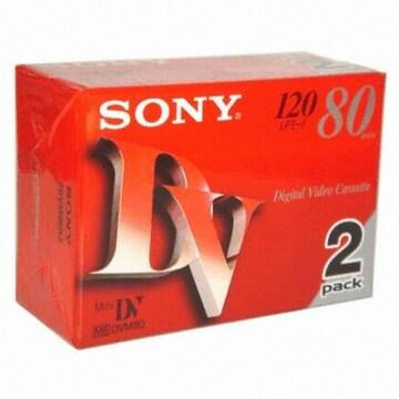 SONY MiniDV 6mm DVM80R3 80분 DV테이프 (6개)_이미지