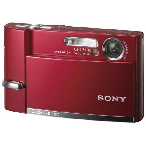 SONY 사이버샷 DSC-T50 레드 (기본 패키지)_이미지