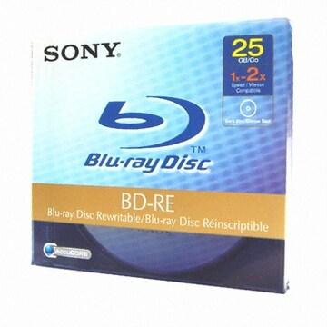SONY BD-RE 25GB 2x 쥬얼 (1장)_이미지