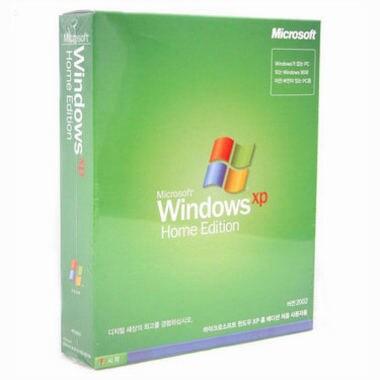 Microsoft Windows XP Home (처음사용자용 한글)_이미지