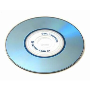 SONY DVD-RW 2.8GB 2x 쥬얼 10장 미니_이미지