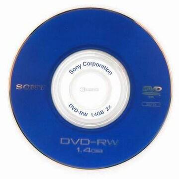 SONY DVD-RW 1.4GB 2x 미니 쥬얼 (5장 )_이미지