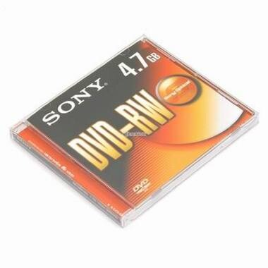 SONY DVD-RW 4.7GB 2x 쥬얼 (10장)_이미지