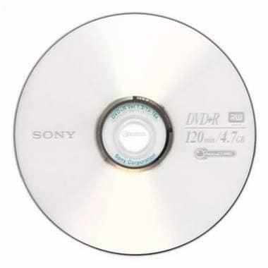 SONY DVD+R 4.7GB 16x 쥬얼 5장_이미지