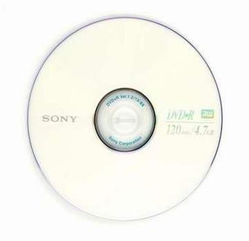 SONY DVD+R 4.7GB 8x 케익 10장_이미지
