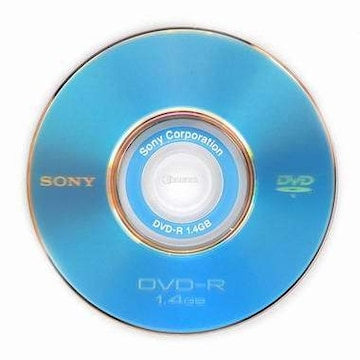 SONY DVD-R 1.4GB 2x 쥬얼 10장 미니_이미지