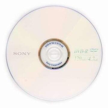 SONY DVD-R 4.7GB 8x 케익 10장_이미지