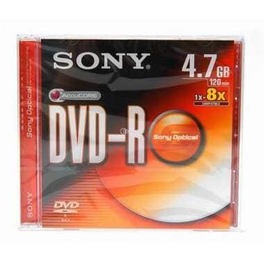 SONY  DVD-R 4.7GB 8x 쥬얼 10장_이미지