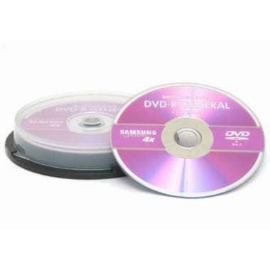 삼성전자 DVD-R 4.7GB 4x 케익 10장_이미지