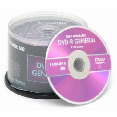 삼성전자 DVD-R 4.7GB 4x 케익 50장_이미지