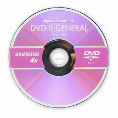 삼성전자  DVD-R 4.7GB 4x 쥬얼 1장_이미지
